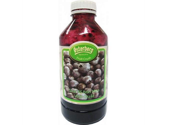 SINH TỐ VIỆT QUẤT OSTERBERG BLUEBERRY