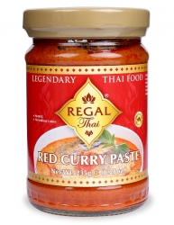 Cà Ri Đỏ-Red Curry Paste  Regal Thai Lọ 235G