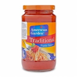 Sốt mì Ý truyền thống -5 Traditional Pasta Sauce American Garden 397g