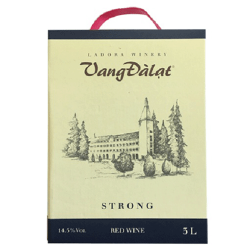 Vang Dalat Strong Red Wine 03 L