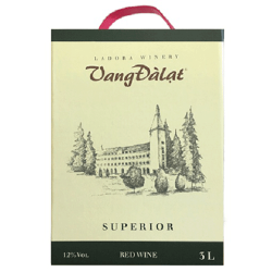 Vang Dalat Superior Red Wine 03 L
